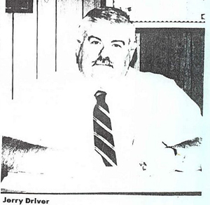 Jerry Driver, 1992