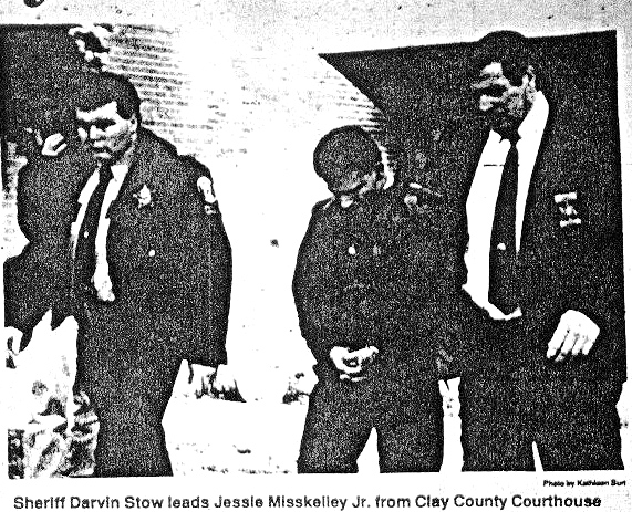 Misskelley found guilty, led away from courthouse